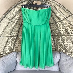 Donna Morgan Strapless Dress - Green